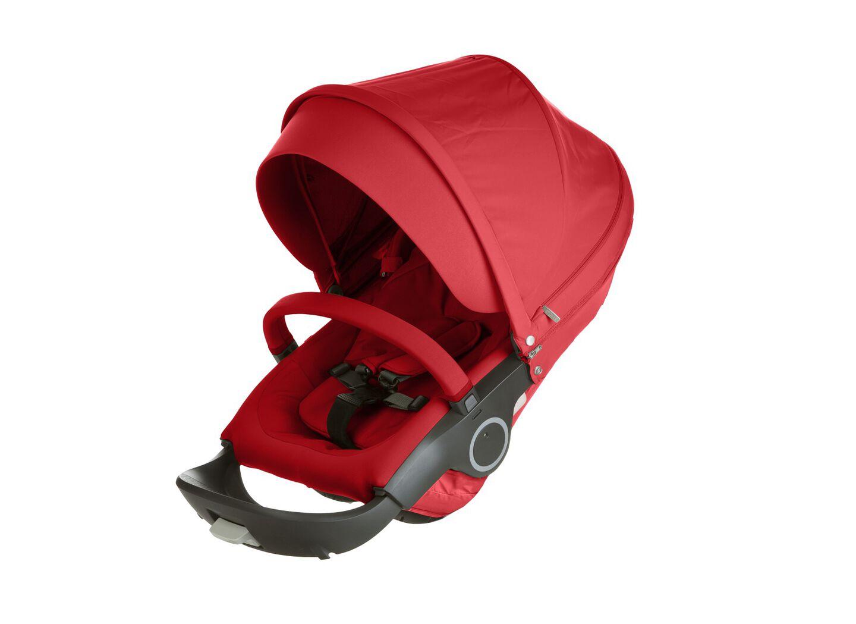 Stokke® Stroller Seat. Red.