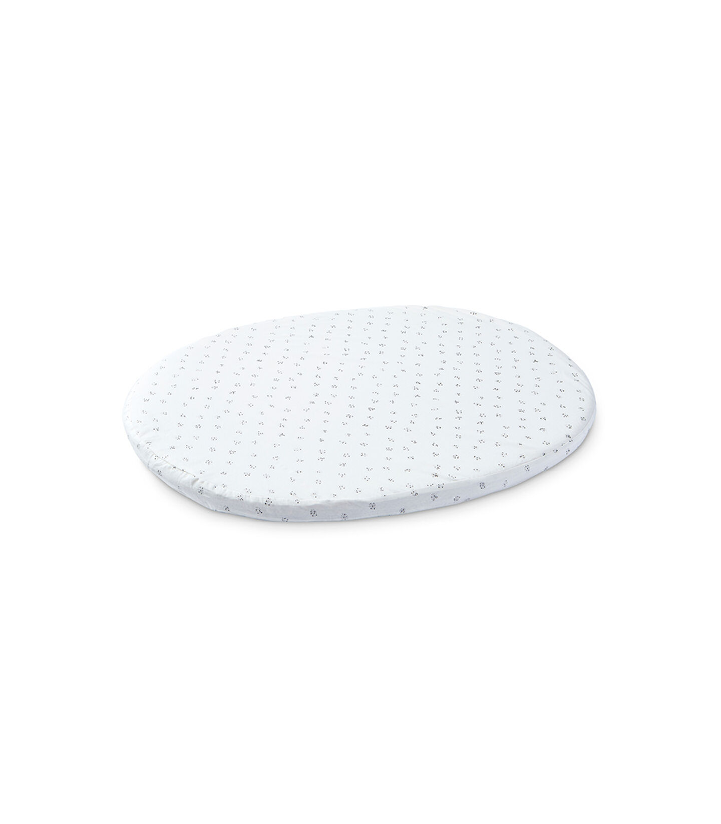 Stokke® Sleepi™ Mini Fitted Sheet Pehr Grey Dotty, Grey Dotty, mainview view 1