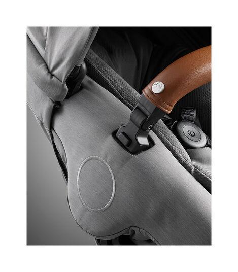 Stokke® Xplory® X Modern Grey Stroller Detail Seat Rail view 7