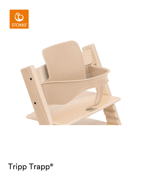 Tripp Trapp® Chair Natural with Baby Set. Close-up. view 7