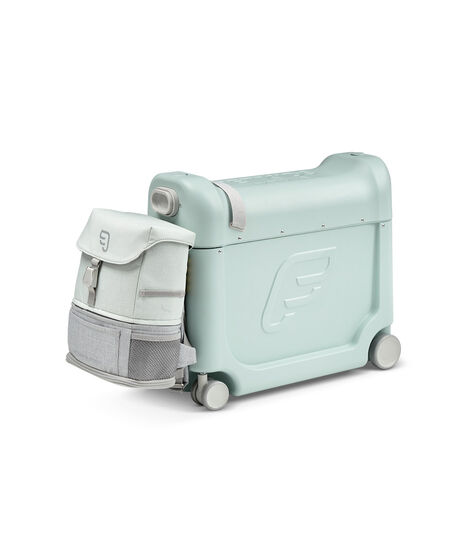 JetKids™ by Stokke® Crew BackPack on BedBox V3, Green Aurora view 3