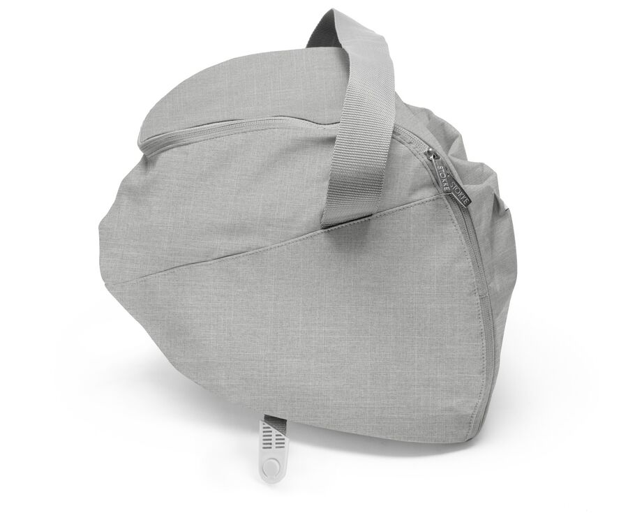 Stokke® Xplory® accessories. Shopping Bag, Grey Melange.
