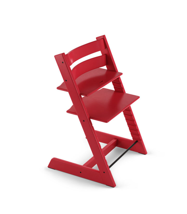 Tripp Trapp® Chair Red, Beech.