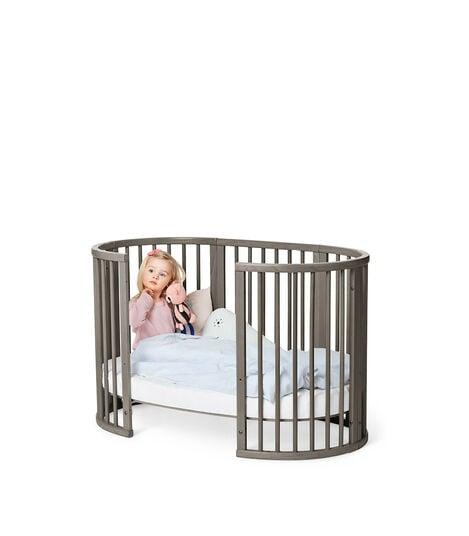 Stokke® Sleepi™ Mini Hazy Grey, Hazy Grey, mainview view 6