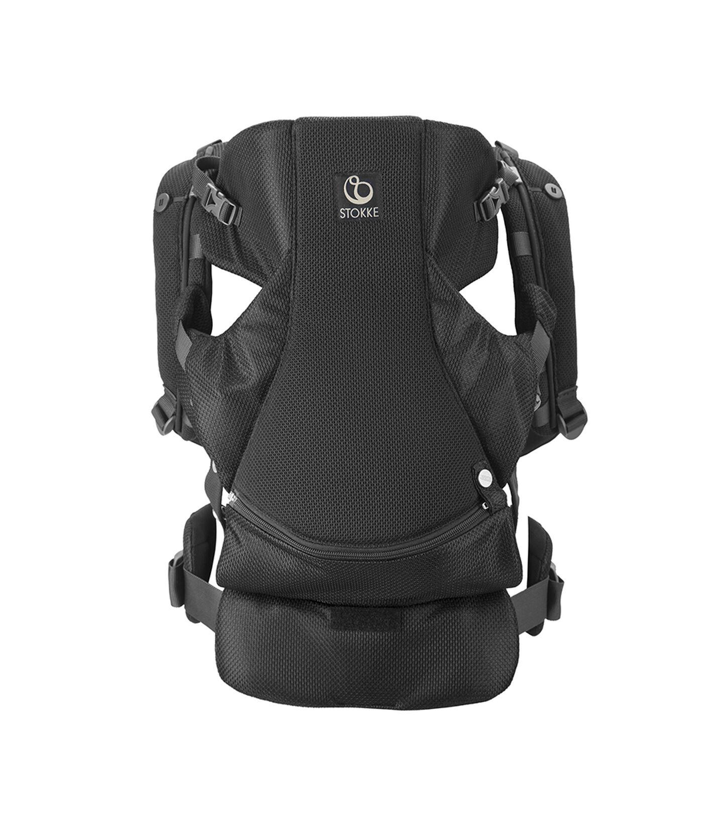 Porte-bébé ventral et dorsal Stokke® MyCarrier™ Black Mesh, Maille noire, mainview view 1
