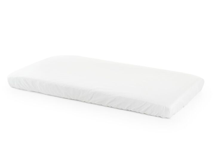 Stokke® Home™ Matteress with fitted sheet, White.