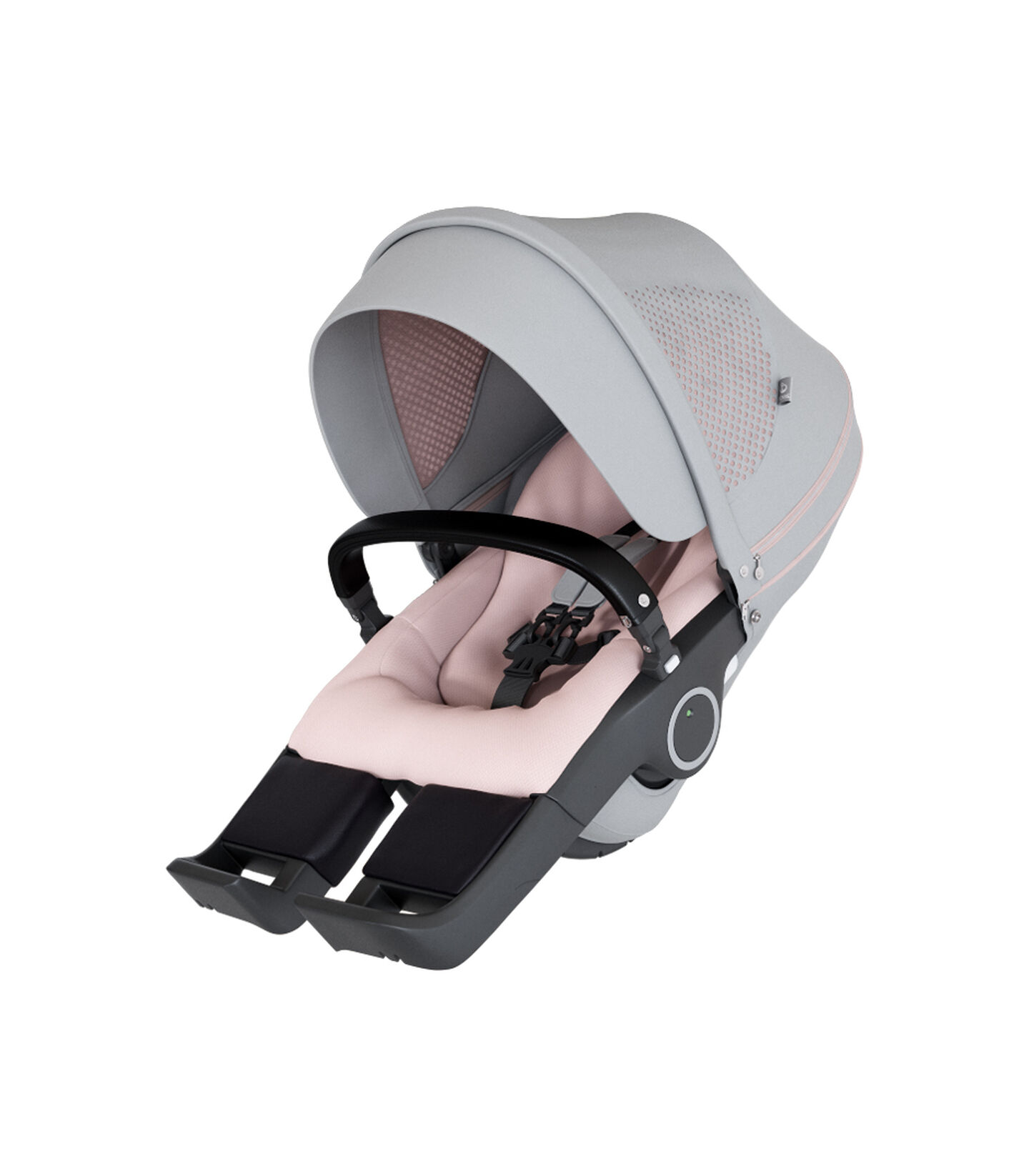 StokkeR Stroller Seat Athleisure Pink Mainview