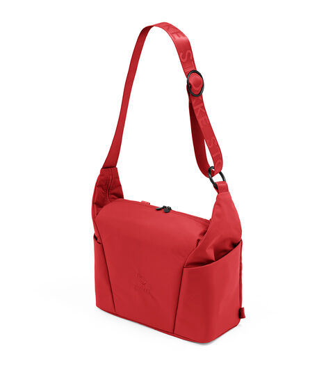 Stokke® Xplory® X Changing bag Ruby Red, Rouge Rubis, mainview view 3