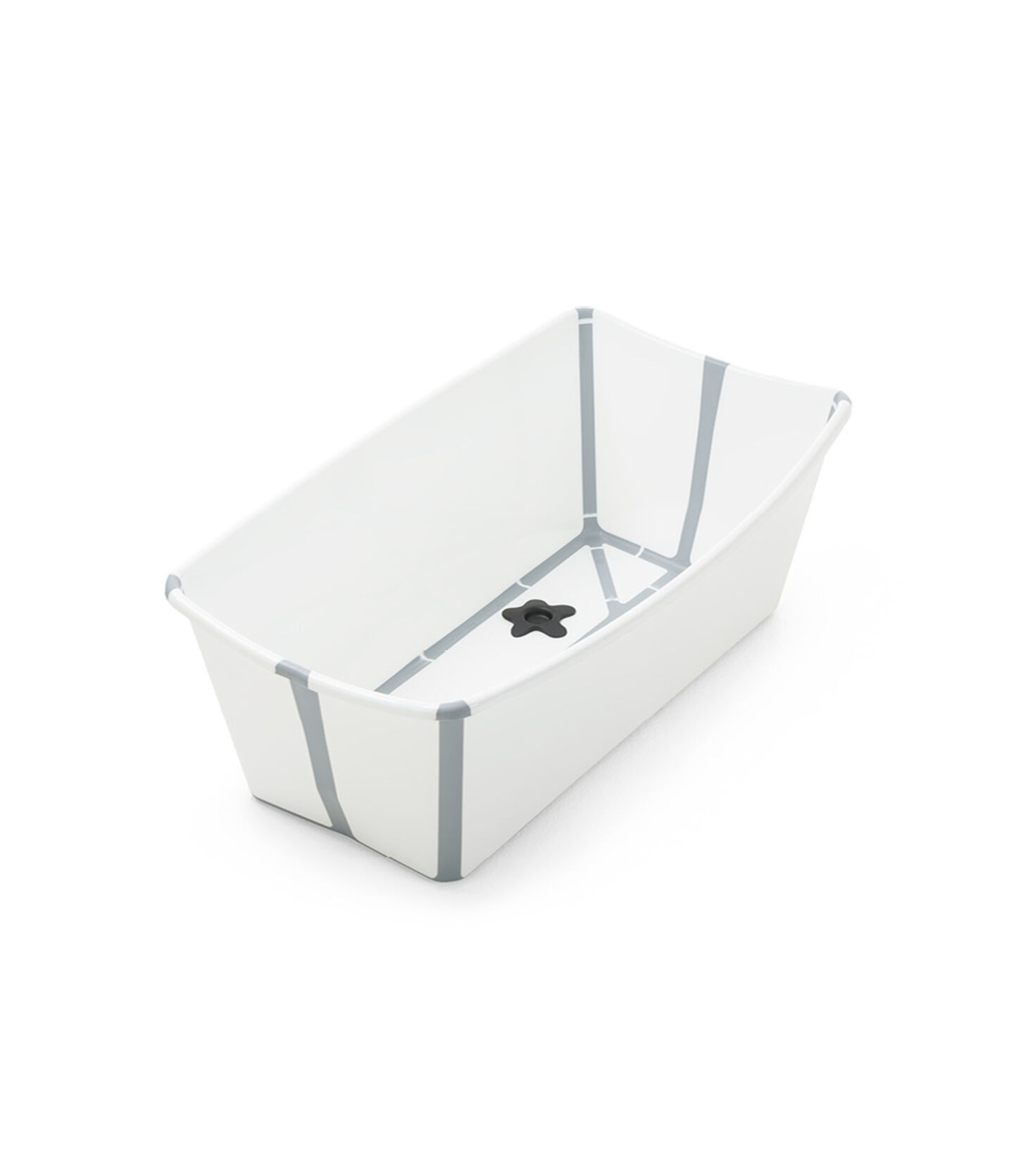 Stokke® Flexi Bath® bath tub, White Grey. Open. view 2