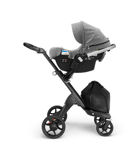 Stokke® PIPA™ by Nuna® Black Car Seat Black Melange, Black Melange, mainview view 3
