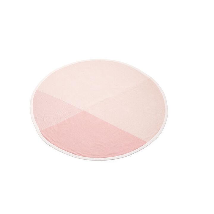 Stokke® pledd i bomullstrikk, Pink, mainview view 1