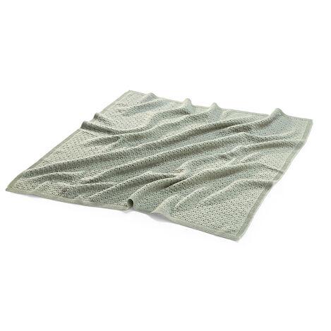 Blanket, Merino Wool, Green view 2