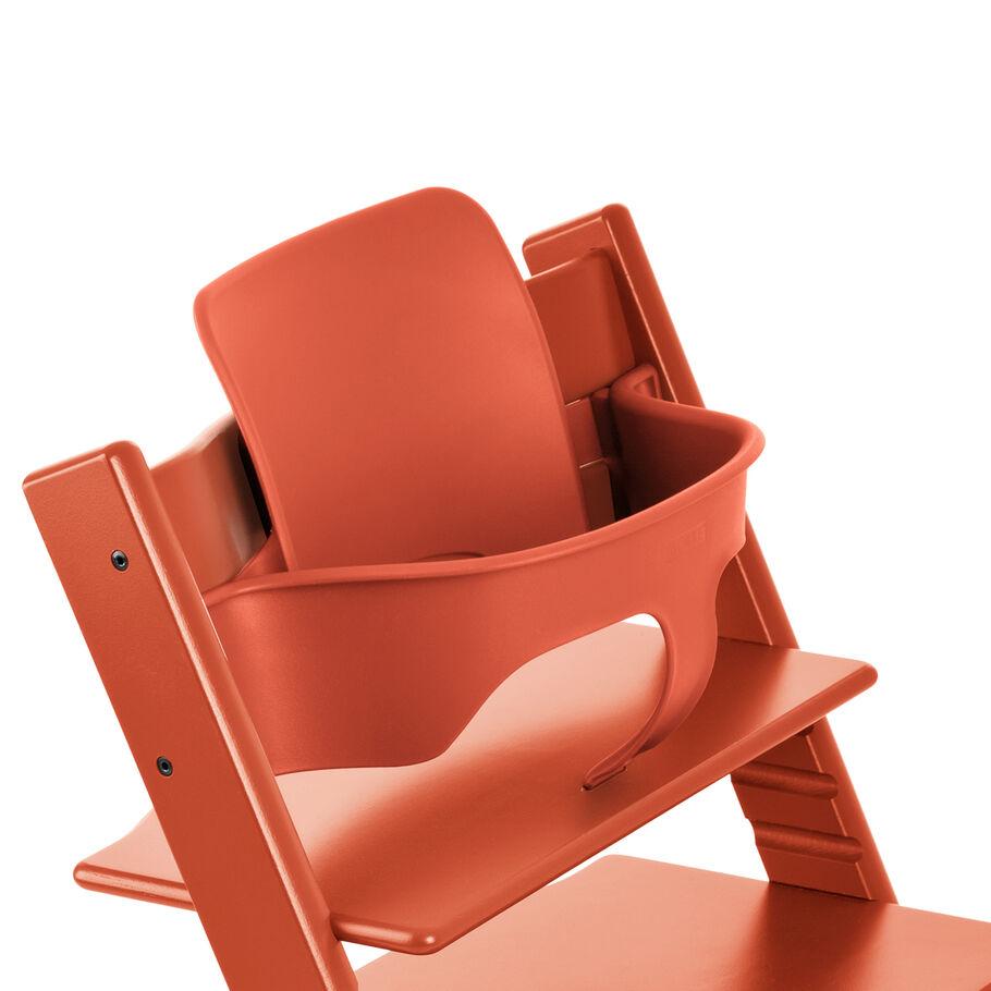 Tripp Trapp® Baby Set, Lava Orange, mainview view 60