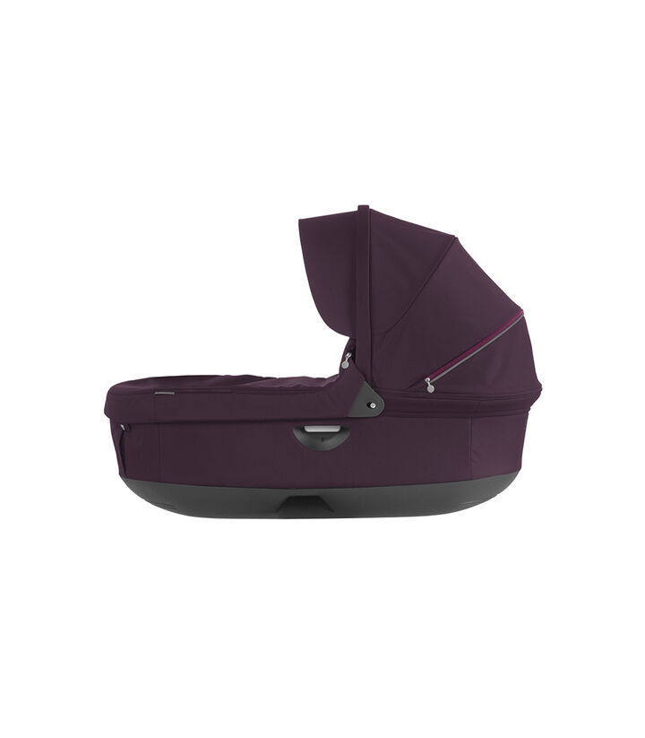 Stokke® Stroller Carry Cot. Purple. (Canopy not included).