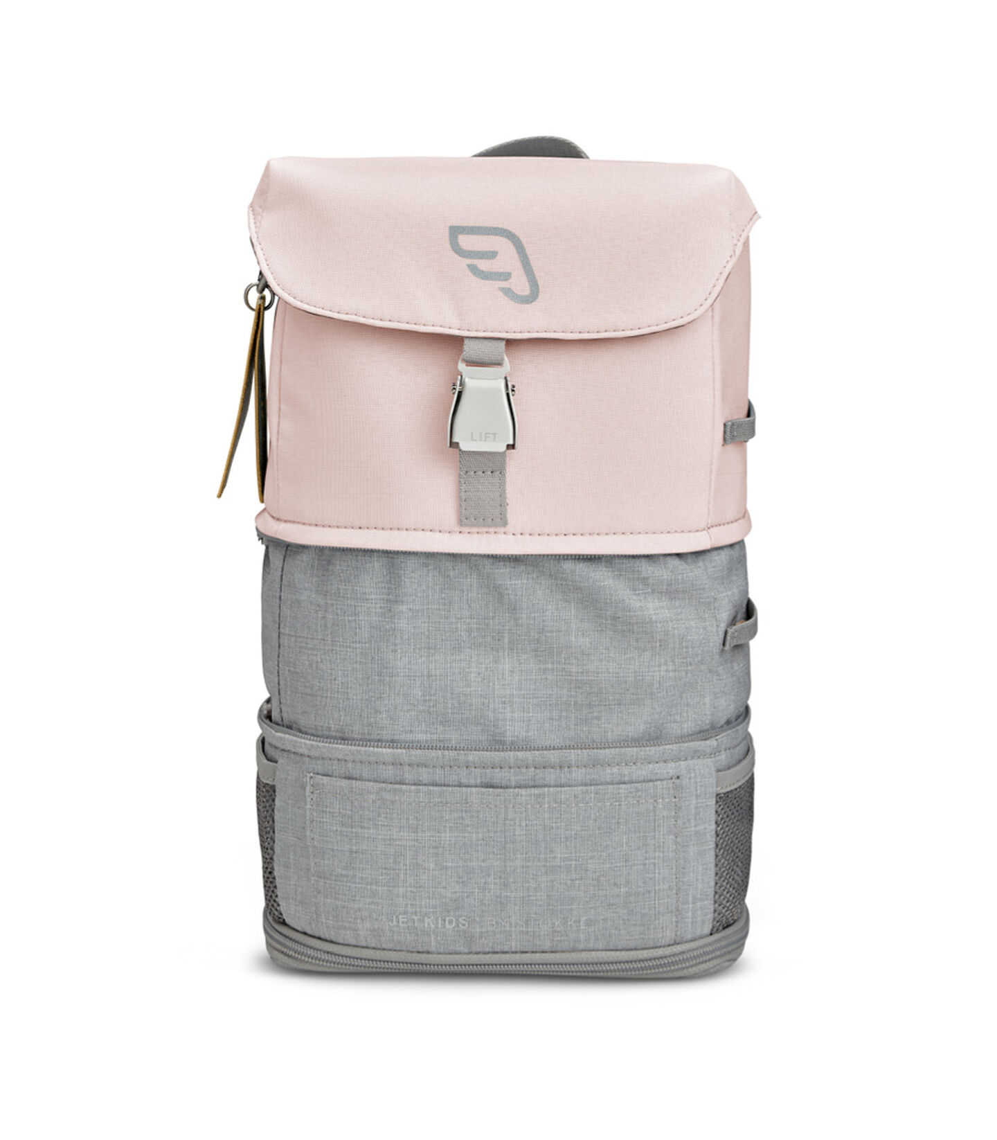 JetKids™ by Stokke® Crew BackPack Pink Lemonade, expanded view 4
