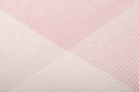 Stokke® Blanket Organic Cotton Knit OCS Pink, Pink, mainview view 2