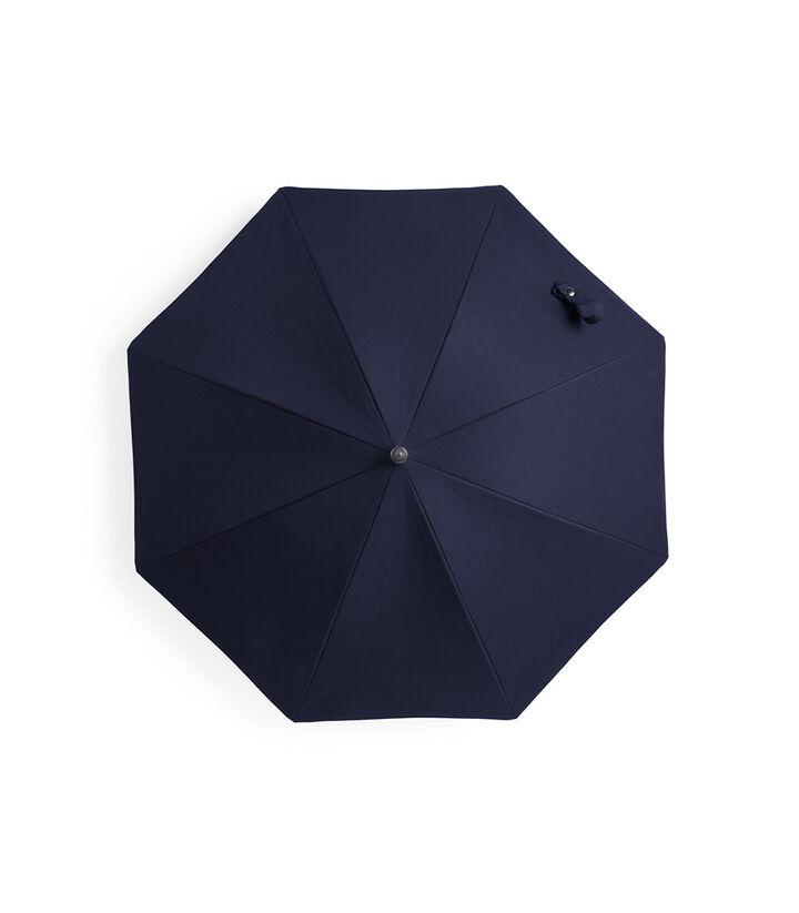 Stokke® Black Barnevognsparasol, Deep Blue, mainview view 1