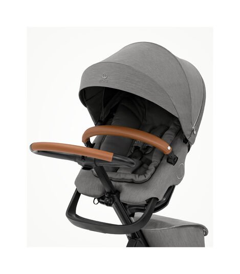 Stokke® Xplory® X Modern Grey Stroller with Seat. view 2
