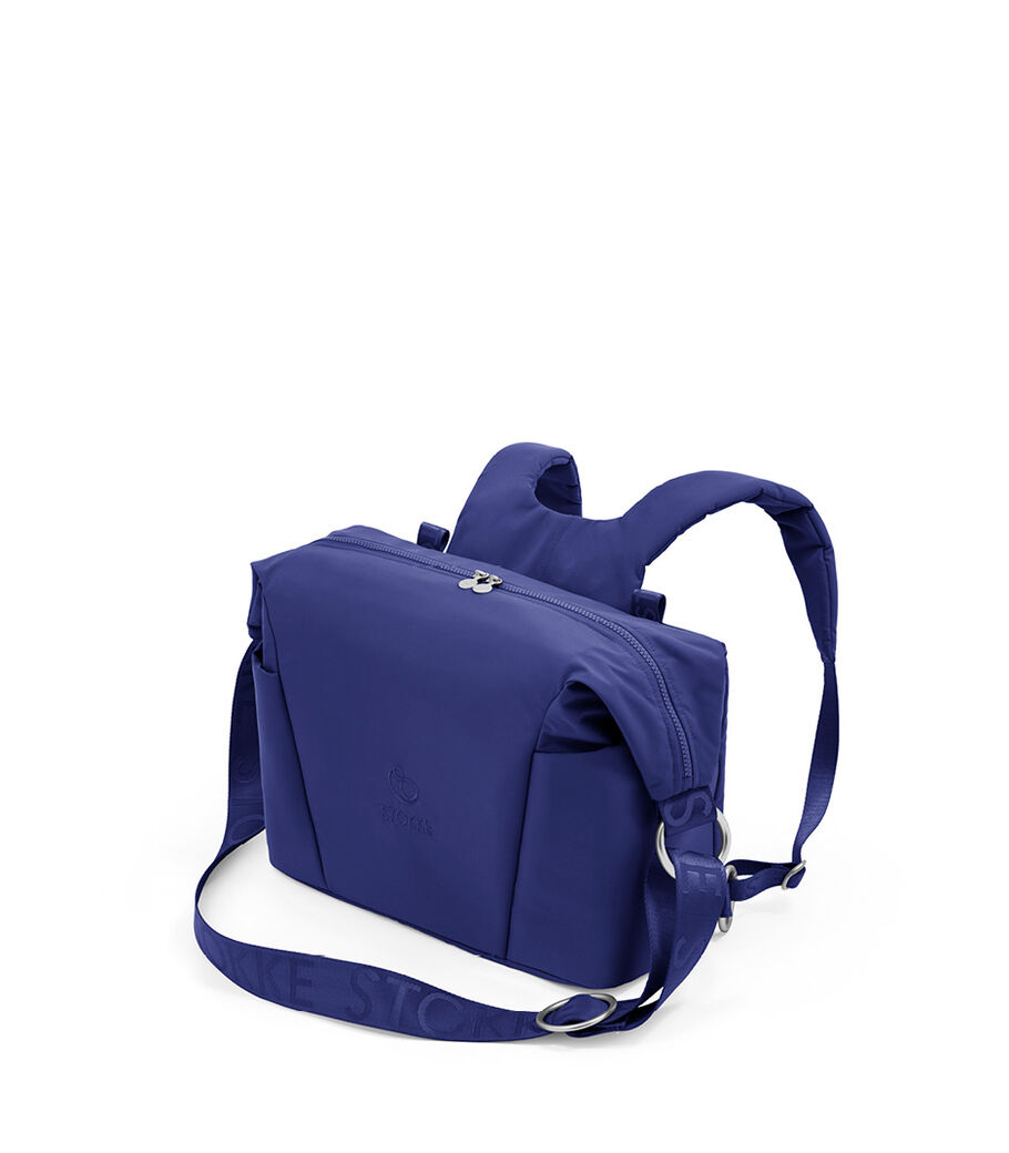 Stokke® Xplory® X Wickeltasche, Royal Blue, mainview view 4