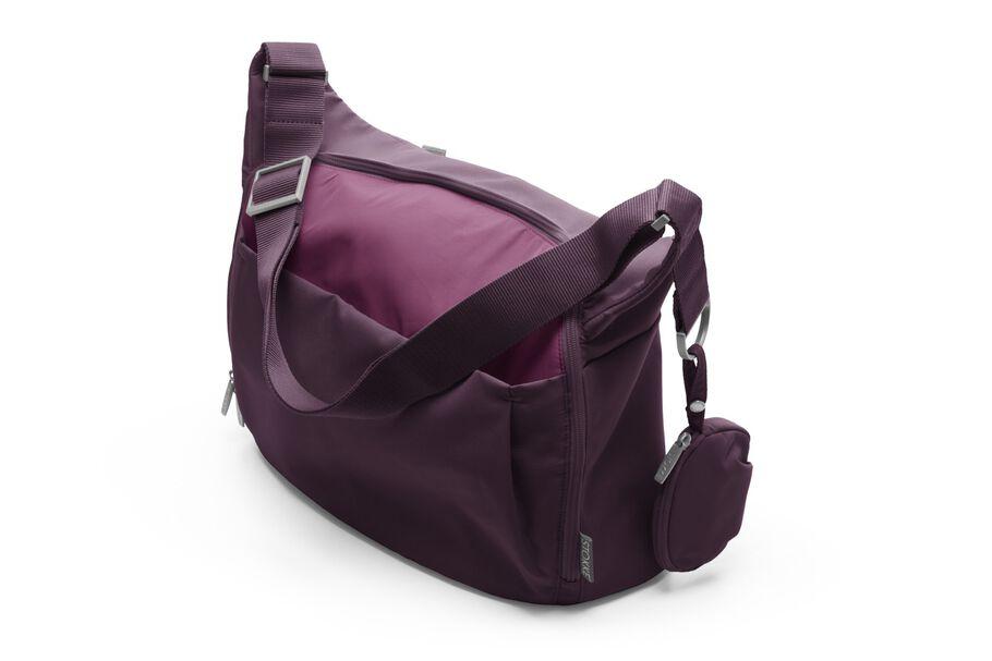 Stokke® Stroller Changing Bag, Purple.