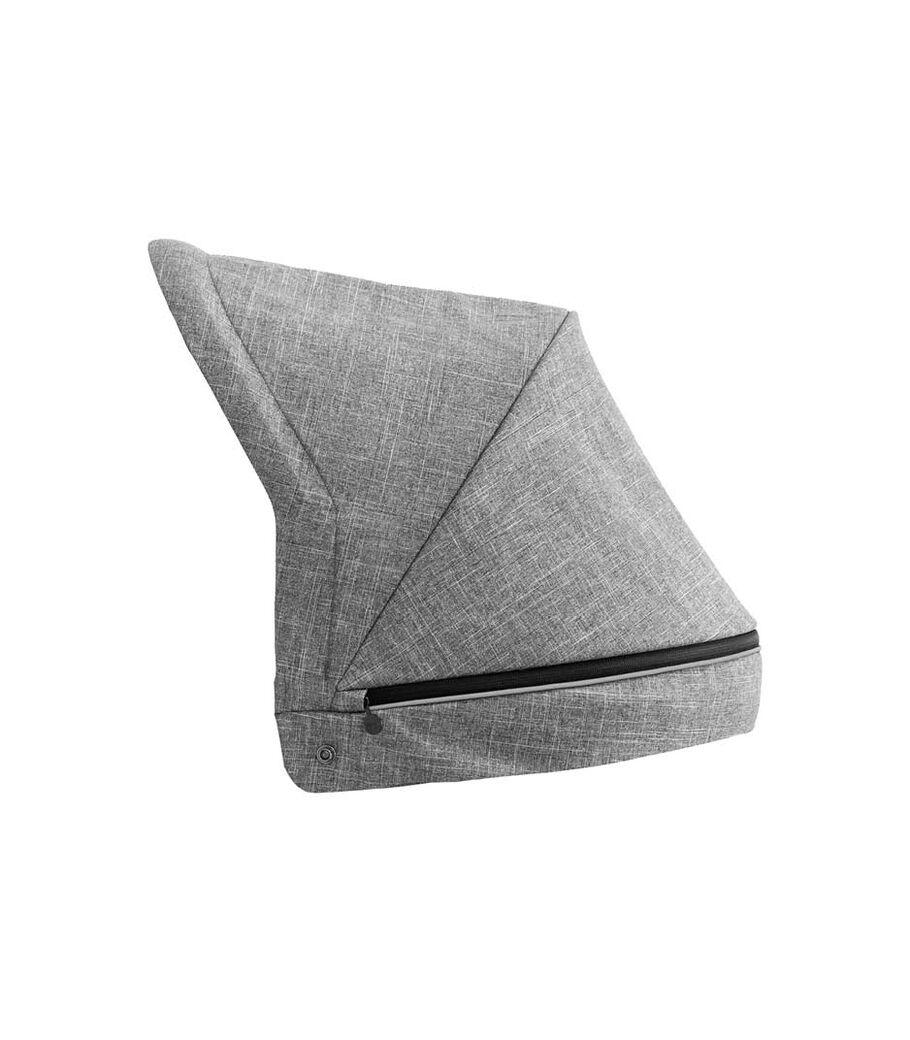 Stokke® Beat™ spare part. Canopy, Black Melange.