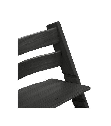 Tripp Trapp® Chair close up photo Oak Black view 4