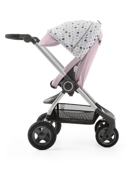 Stokke® Scoot™ Soft Pink with Style Kit Soft Dots.
