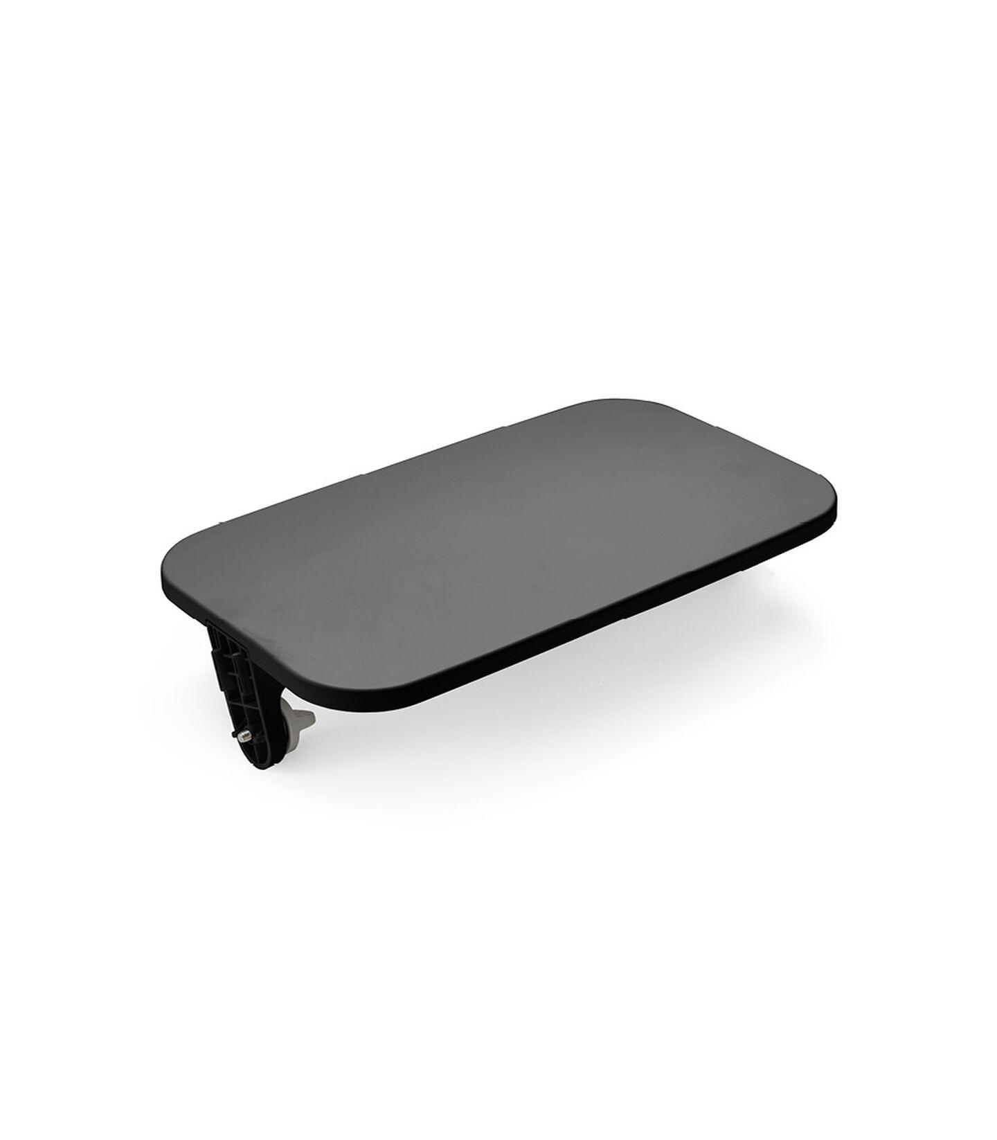 Stokke® Steps™ Chair Footrest Black, Black, mainview view 1
