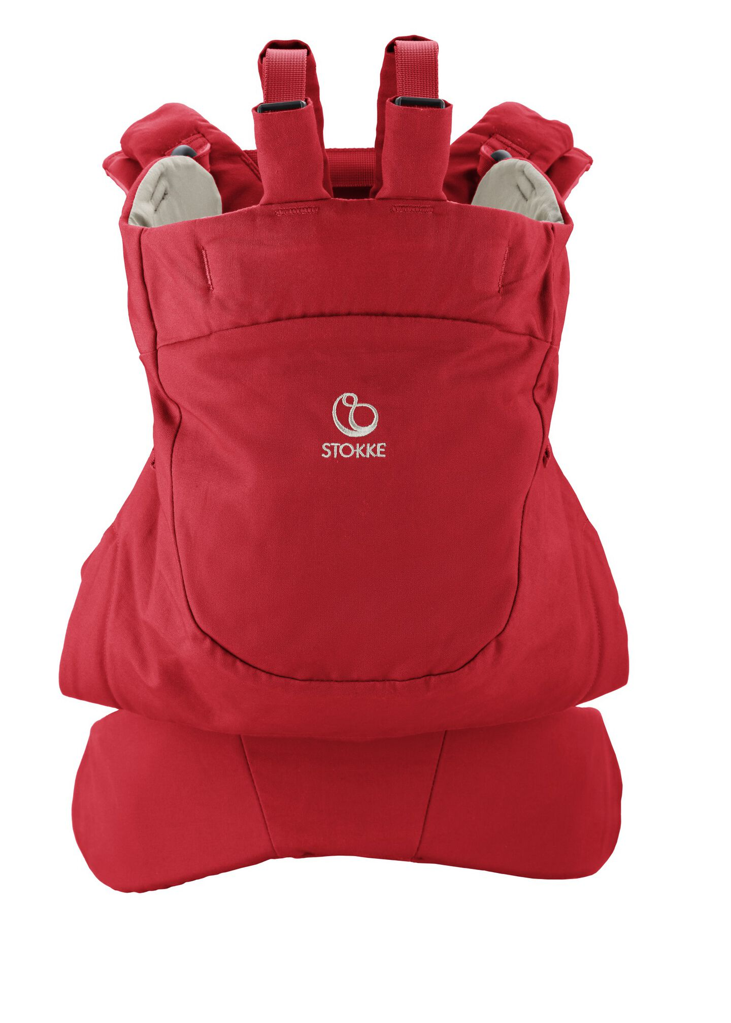 Stokke® MyCarrier™ Back Carrier Red.