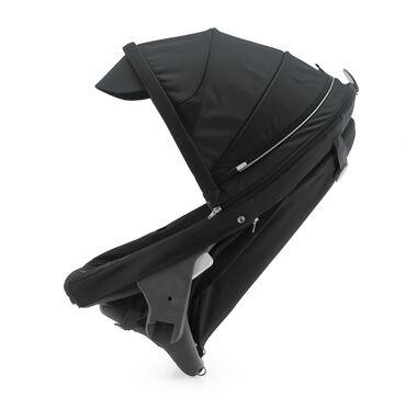 Stokke® Crusi™ Sibling Seat and sparepart seat for Stokke® Scoot™. Black.