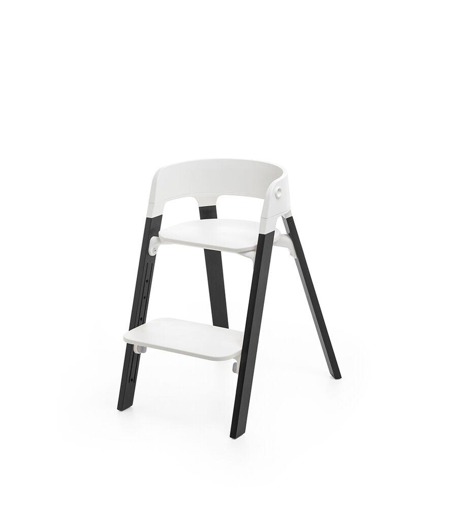 Stokke® Steps™ Chair, Oak Black, mainview view 19
