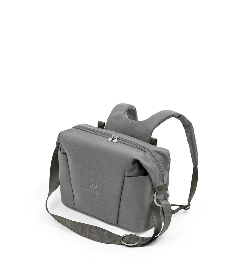Stokke® Xplory® X Changing Bag Modern Grey. Accessories. view 8