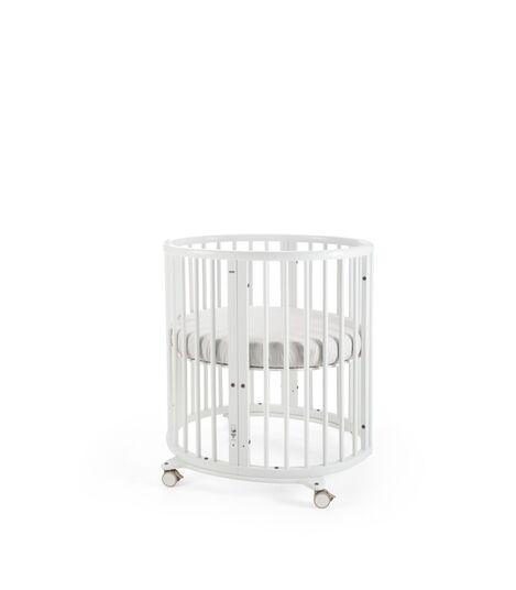 Stokke® Sleepi™ Mini Bundle w Matt White, White, mainview view 4