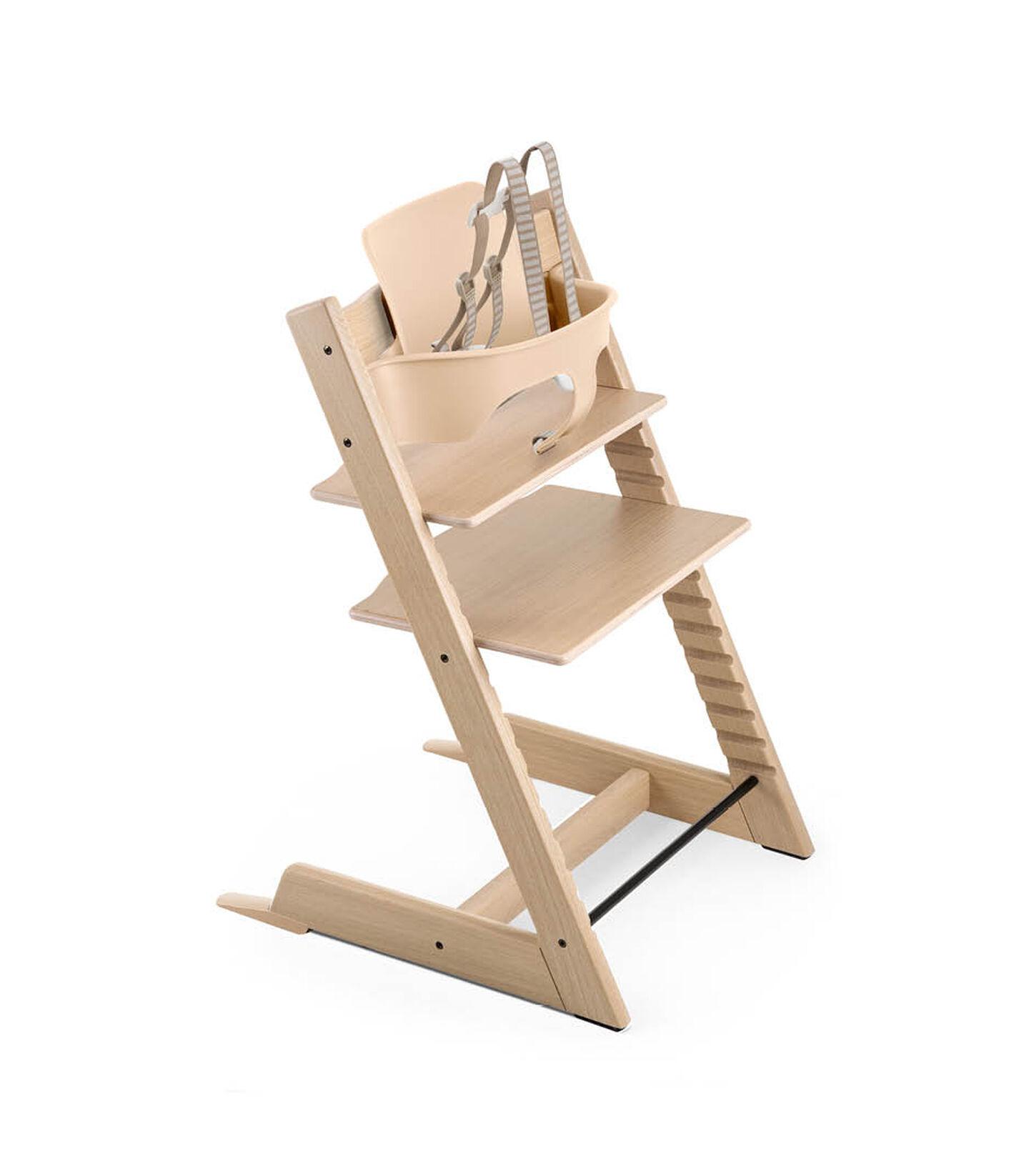 Tripp Trapp® Bundle High Chair Oak Natural, Oak Natural, mainview view 2