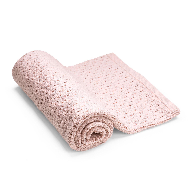 Stokke® Blanket Merino Wool Pink, Pink, mainview view 1