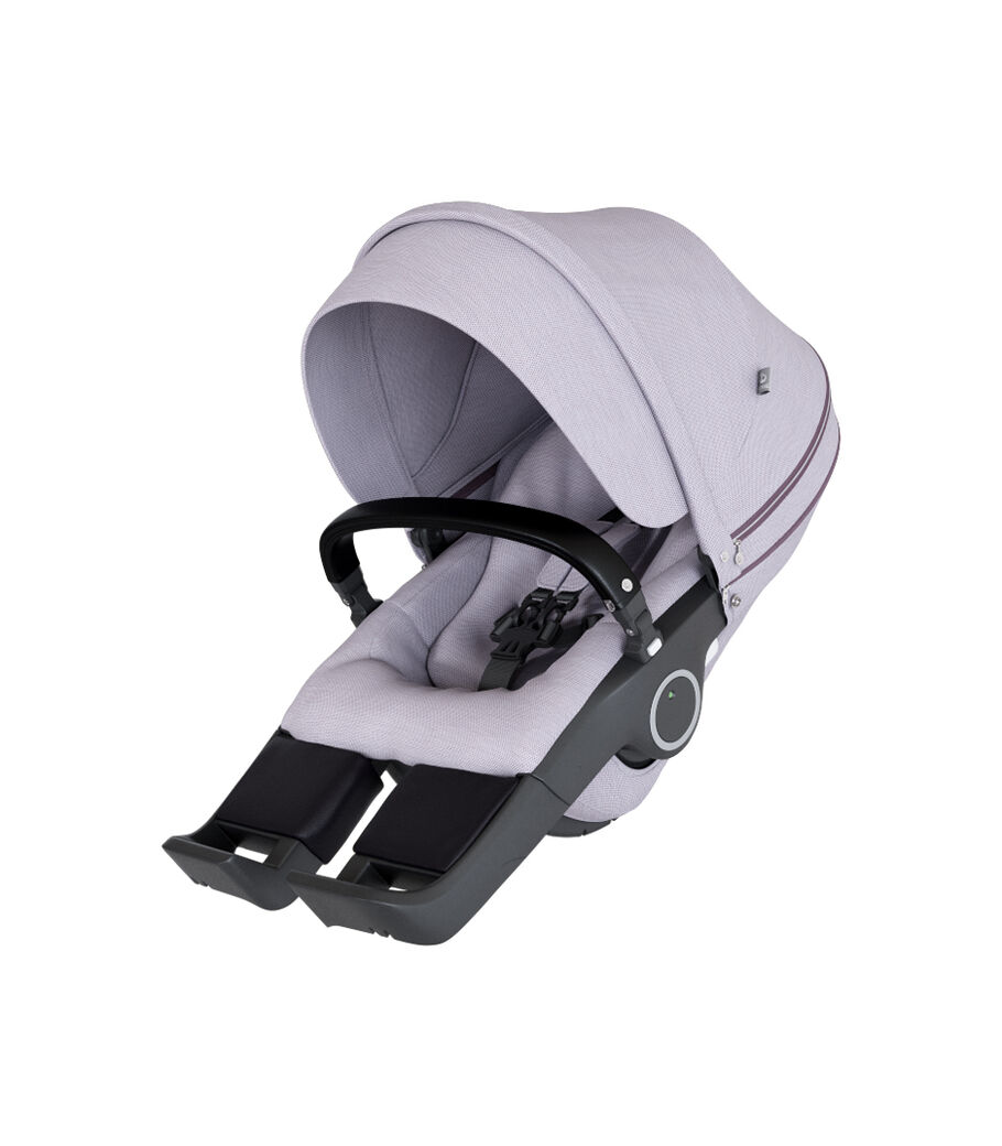 Stokke® Stroller Seat, Brushed Lilac, mainview view 4