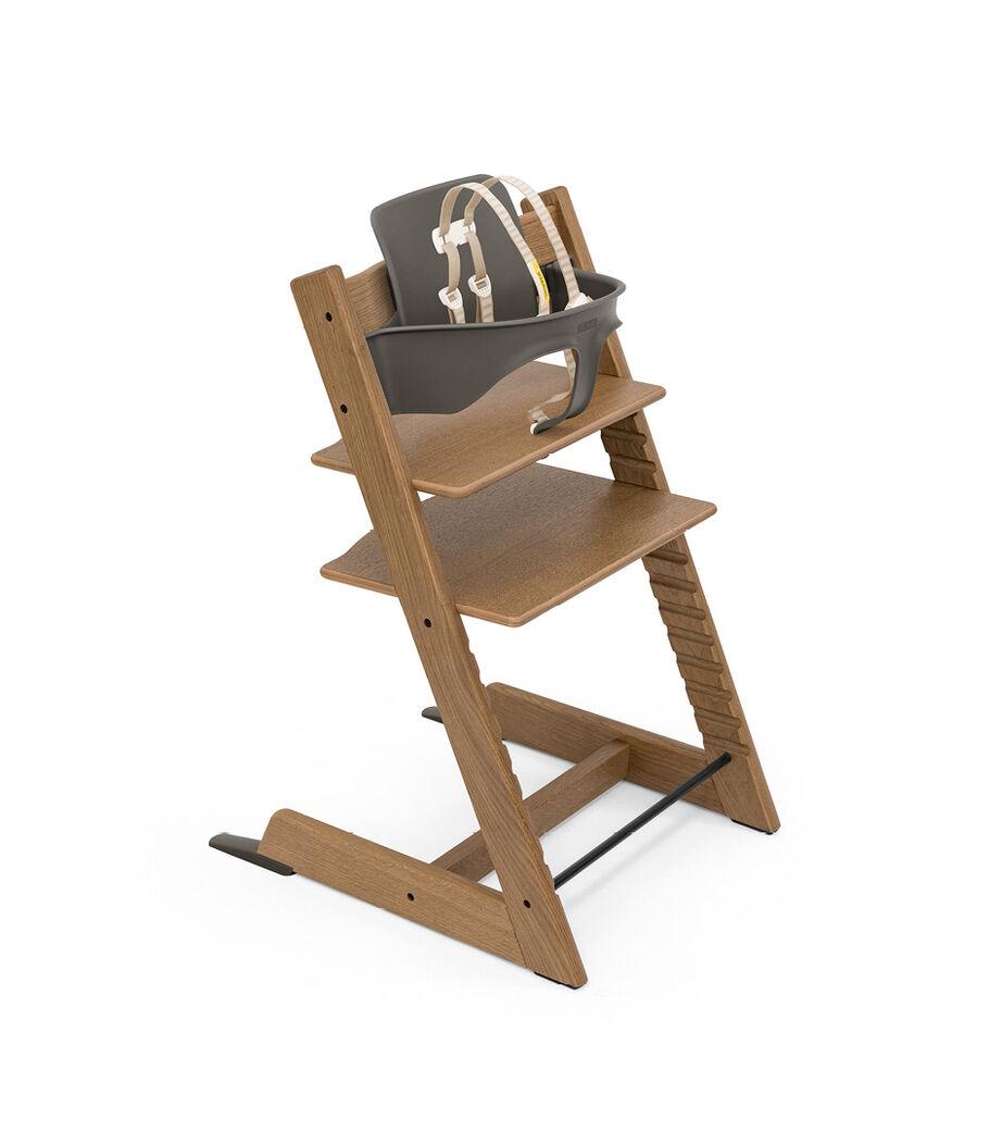 Tripp Trapp® Bundle High Chair Oak Brown, , mainview view 2
