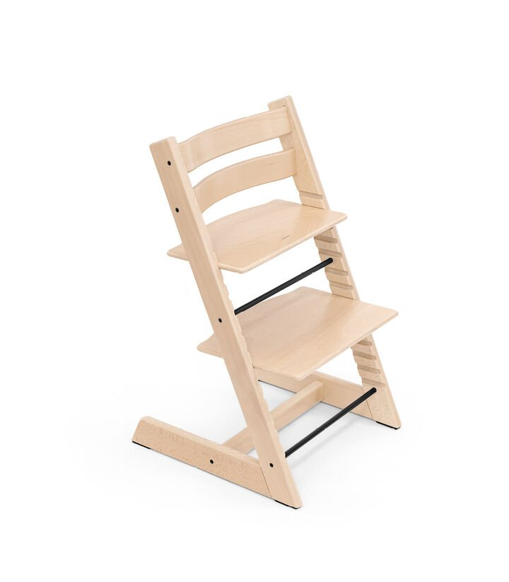 Tripp Trapp® chair Natural, Beech Wood. view 1