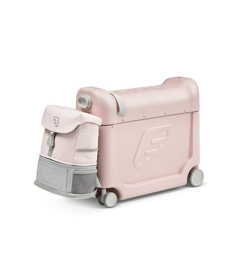 JetKids™ by Stokke® Crew BackPack on BedBox V3, Pink Lemonade