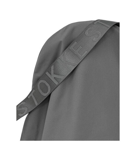 Stokke® Clikk™ Travel Bag, Dark Grey. Closed view 6