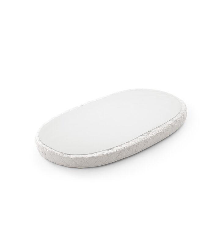 Stokke® Sleepi™ Bed Protection Sheet. White view 1