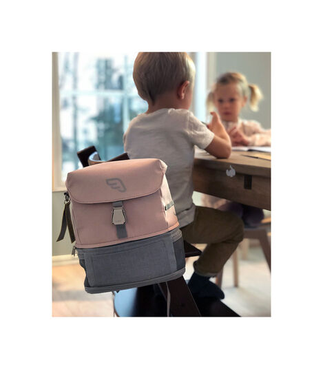 JetKids™ by Stokke® Crew BackPack Pink Lemonade view 3