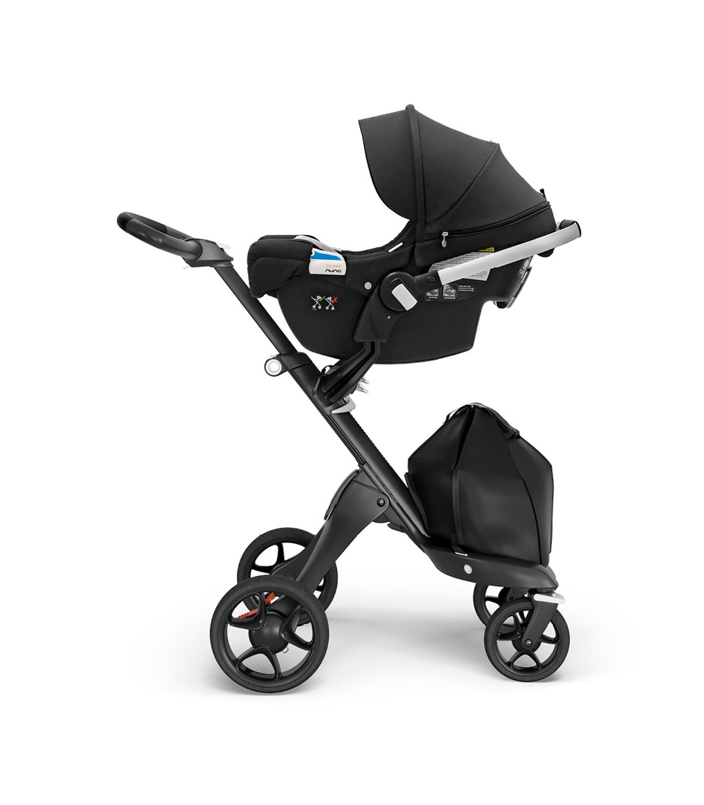 Stokke® PIPA™ by Nuna® Black Car Seat Black, Black, mainview view 2
