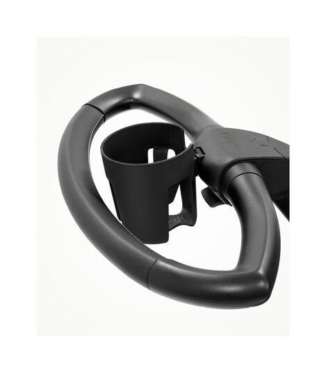 Stokke® Stroller Portavasos Black, , mainview view 2