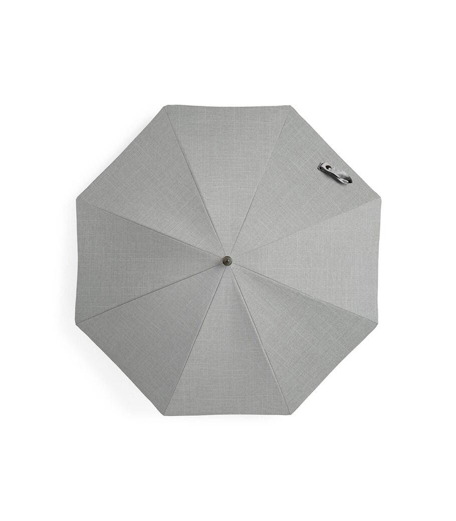 Stokke® Xplory® Black Parasol, Grey Melange, mainview view 52