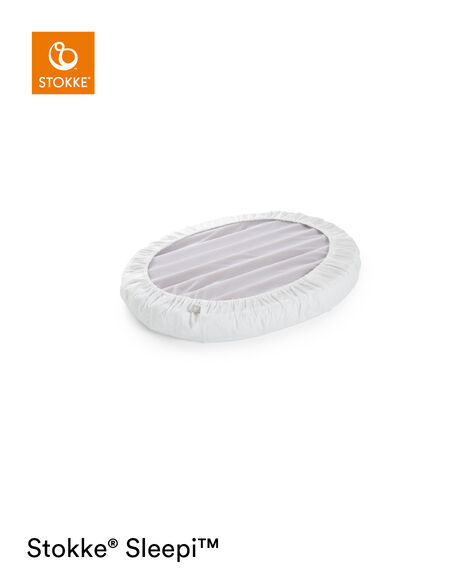 Stokke® Sleepi™ Mini Sáb. Bajera ajustable Blanco, Blanco, mainview view 6