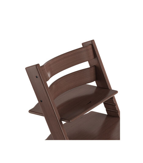 Tripp Trapp® Chair close up 3D rendering Walnut Brown