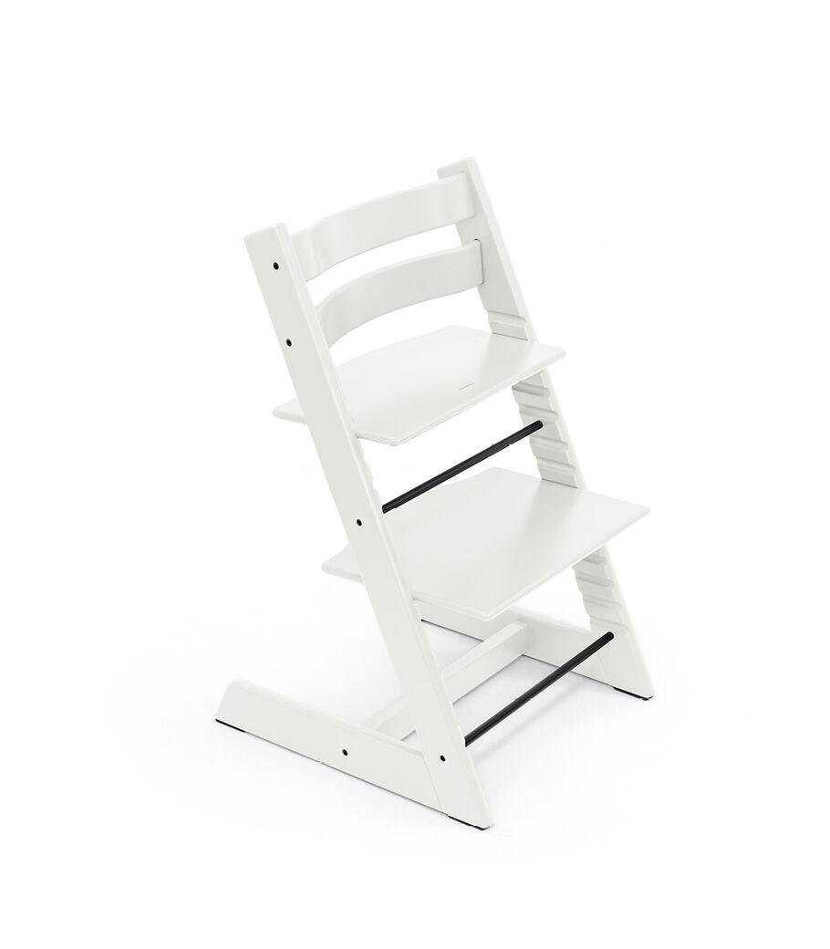 Tripp Trapp® chair White, Beech Wood.