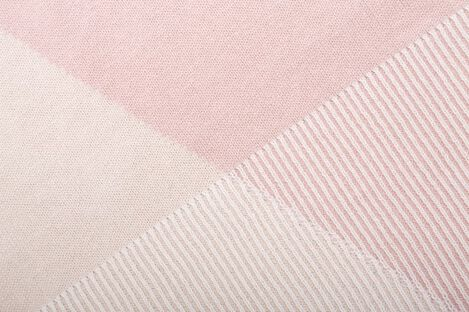 Stokke® Blanket Organic Cotton Knit OCS Pink, Pink, mainview view 3