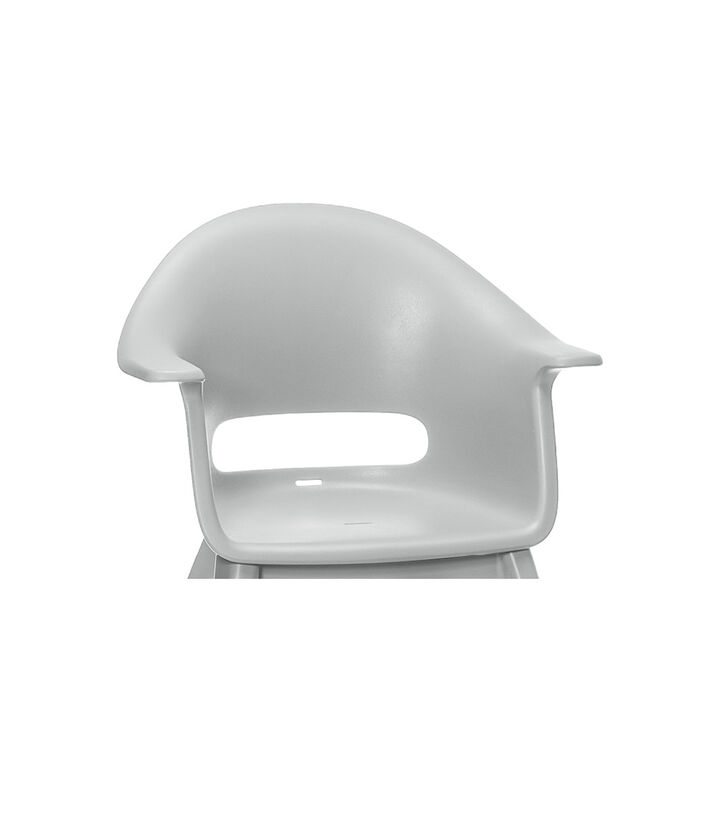 Stokke® Clikk™ Seat in Cloud Grey. Available as Spare part. view 1